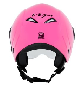 Vega Verve half helmet for ladies, Pink colour