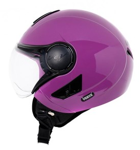 Vega Verve half for ladies helmet, Purple colour