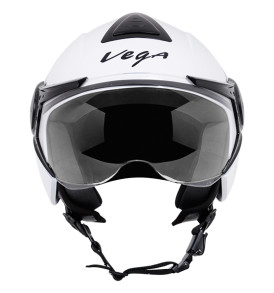 Vega Verve half for ladies helmet, White colour