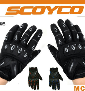SCOYCO MC 10 Hand Gloves black colour