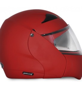 Boolean Dull Red Helmet