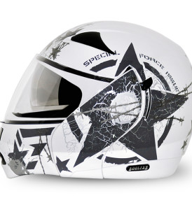 Boolean Navy White Base With Anthracite Graphic Helmet