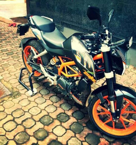KTM RC And Duke Stand