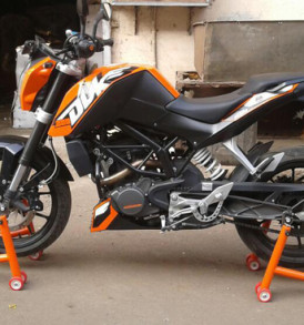 KTM Duke And RC Stand