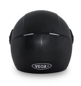 Vega Cliff Air full face dull Black Helmet