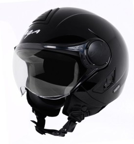 Vega Verve half for ladies helmet, Black colour