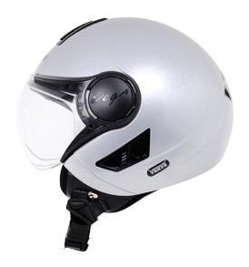 Vega Verve half for ladies helmet, Silver colour