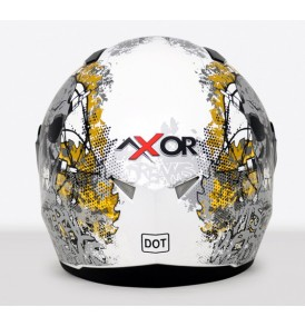 Axor A1 Dreams Dull White Silver Graphic Helmet