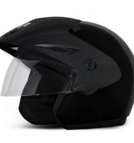 Cruiser W/P Black Helmet